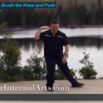 tai chi video, 10 form part 4, Brush Knee Push